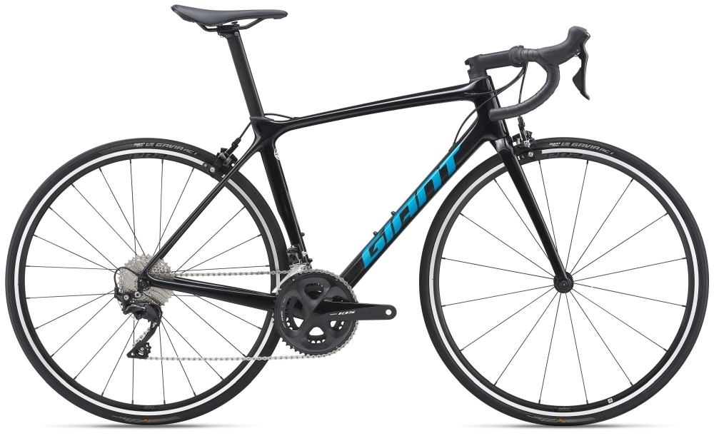 GIANT TCR Advanced 2 XL carbon smoke