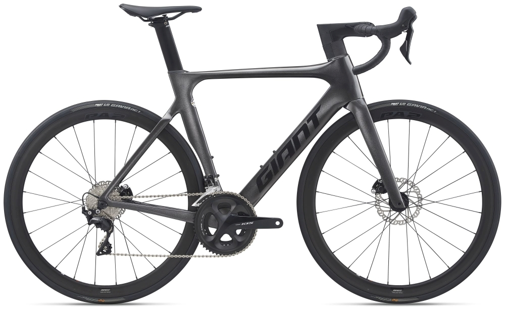 GIANT Propel Advanced 2 Disc M metallic black