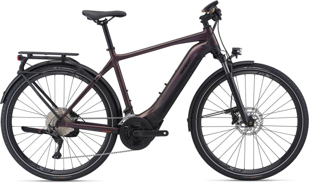GIANT Explore E+ 1 Pro GTS L metallic brown / black satin-matt-gloss