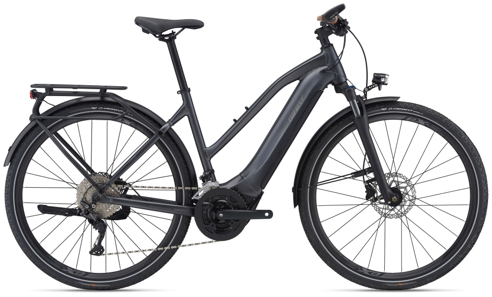 GIANT Explore E+ 1 500Wh STA L gunmetal black matt-gloss
