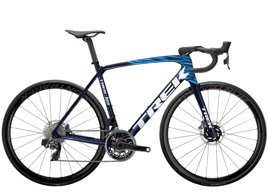 Trek Émonda SLR 9 eTap 54 Navy Carbon Smoke/Blue